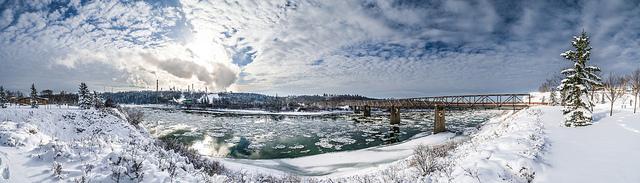 winter in Edmonton